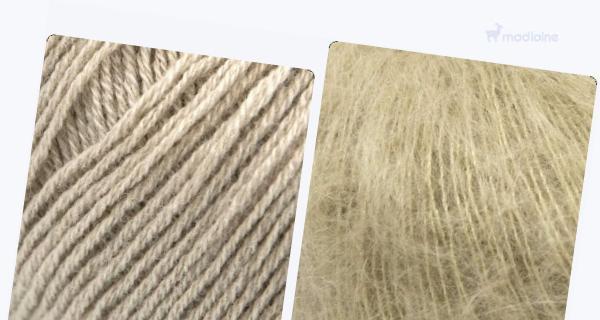 Comparer :  Knitting For Olive Merino Sand,  Knitting For Olive Soft Silk Mohair Trenchcoat