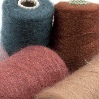 Laine Knitting For Olive Soft Silk Mohair Cône - Knitting For Olive
