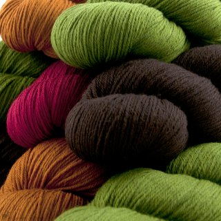 Laine Cheeky Merino Joy - Rosy Green Wool