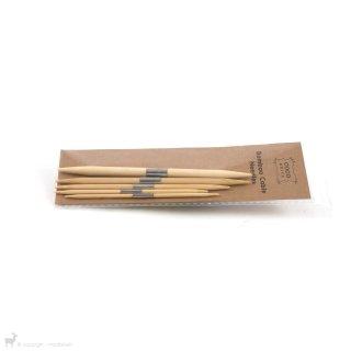 Petit matériel Assortiment d'aiguilles à torsade en bambou