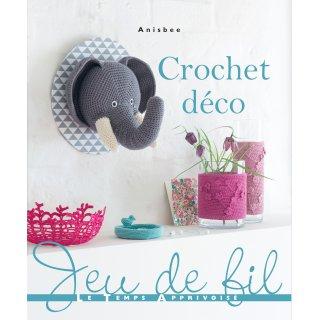 Livres Editions Le Temps Apprivoisé Catalogue Crochet Déco