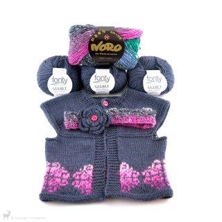 Modèles enfant / bébé Gilet et bandeau pour bébés Glasgow