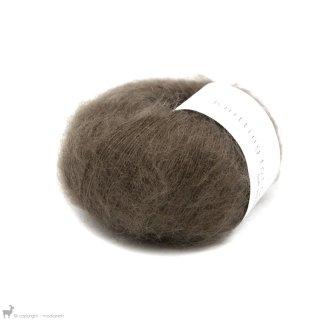 Fil de soie Knitting For Olive Soft Silk Mohair Bark