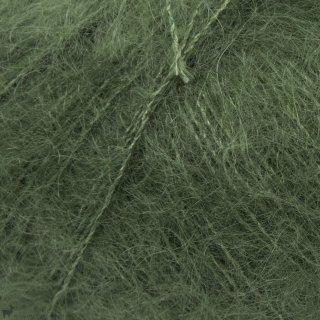 Fil de soie Knitting For Olive Soft Silk Mohair Bottle Green