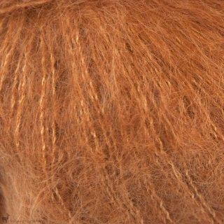 Fil de soie Knitting For Olive Soft Silk Mohair Copper