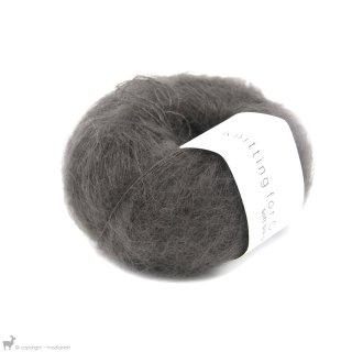 Fil de soie Knitting For Olive Soft Silk Mohair Dark Moose