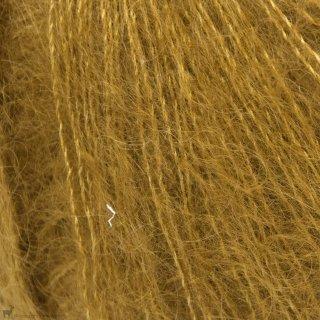 Fil de soie Knitting For Olive Soft Silk Mohair Dark Mustard