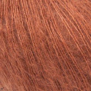 Fil de soie Knitting For Olive Soft Silk Mohair Dusty Robin