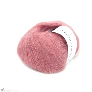 Fil de soie Knitting For Olive Soft Silk Mohair Flamingo