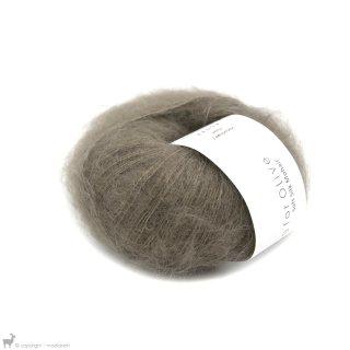 Fil de soie Knitting For Olive Soft Silk Mohair Hazel