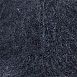 Fil de soie Knitting For Olive Soft Silk Mohair Navy Blue