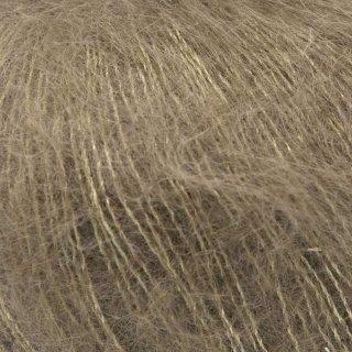 Fil de soie Knitting For Olive Soft Silk Mohair Nut Brown