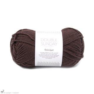 Laine mérinos Double Sunday Petite Knit Coffee Bean 4081