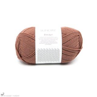 Laine mérinos Sunday Petite Knit Dusty Rouge 3553