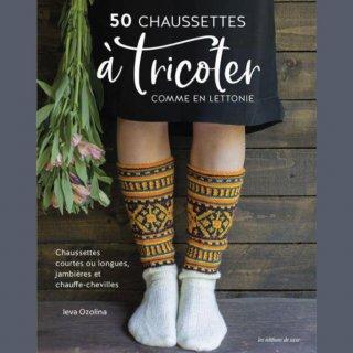 Chaussettes Livre 50 chaussettes à tricoter comme en Lettonie