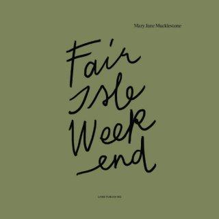 Modèle femme Livre Fair Isle Weekend