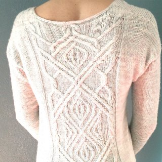 Pull femme Modèle Pullover The Ropes Of Life par Marion Knits
