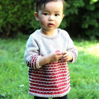 Pull bébé Modèle Pullover Little Angela par Xiaowei Designs
