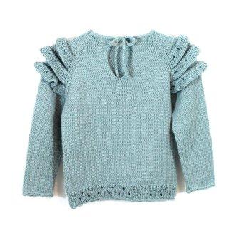 Pull bébé Modèle Pull Qinqin par Xiaowei Designs